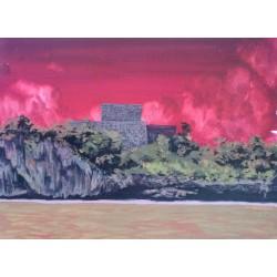 Bruno Gadenne - Tulum rojo